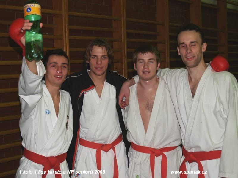 Czech National Cup 2008 seniors - 1. round